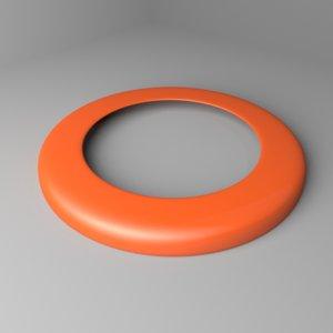 ring frisbee model