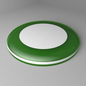 3D bold-disc frisbee