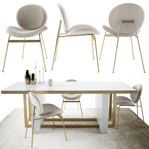 3D jane dinning chair whitney