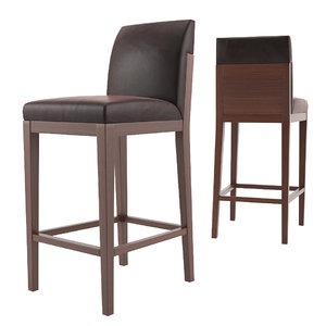 3D alia barstool counter stool model