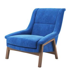 inca armchair - brabbu 3D model