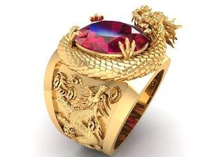 ring dragon 3D model