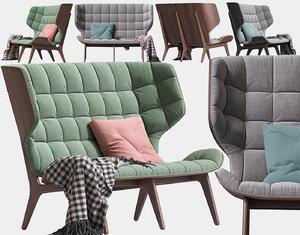 3D sofa mammoth seat