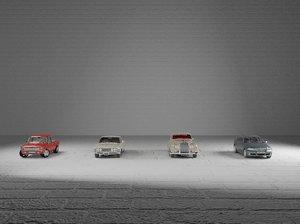 car assembly 3D
