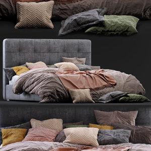 3D boconcept bed mezzo