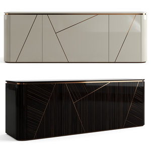 3D furniture sideboard