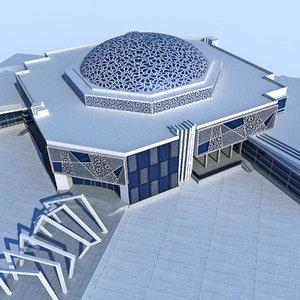 3D design modern architecture