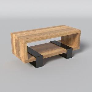 design table 3D model