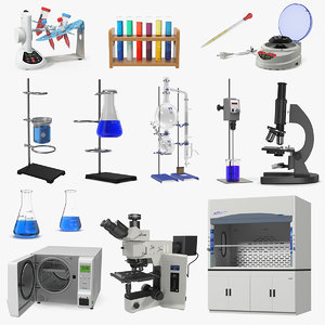 3D lab equipment 6