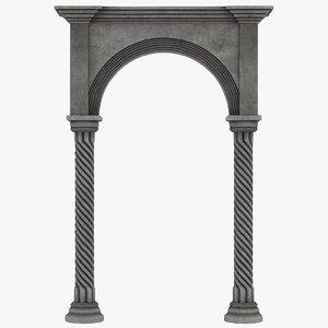 realistic arch 03 model