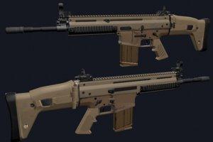 rifle scar 17 3D