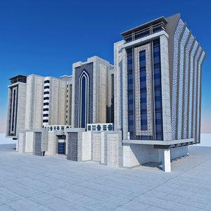 design modern arabic islamic 3D model