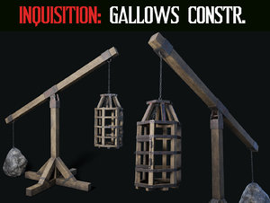 3D inquisition gallow construction