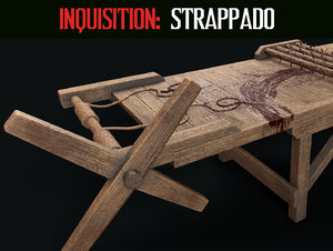 inquisition strappado 3D model