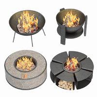 Modern Outdoor Fire Pits