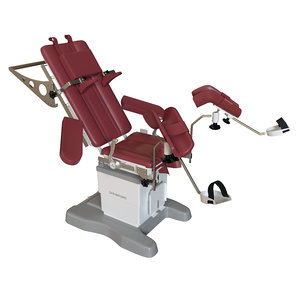 obstetric delivery table chs-smt204d 3D model