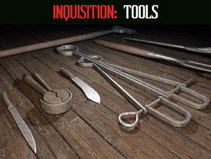 inquisition tools 3D model