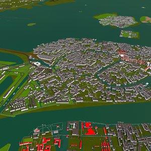 venice veneto city 3D model