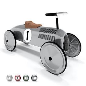 3D classic metal car goki