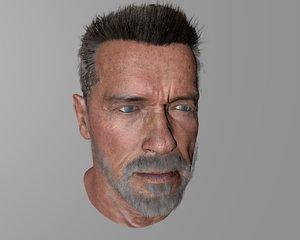 3D arnold schwarzenegger model