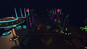sci fi futuristic city 3D