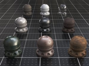 3D model jy house | dark