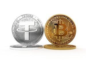 3D bitcoin tether