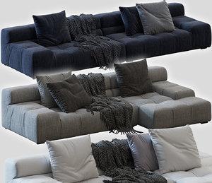 3D sofa tufty-time
