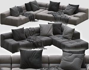 corner sofa tufty-time 3D model