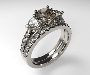 3D ring band
