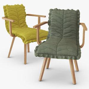 leaf arm chair model