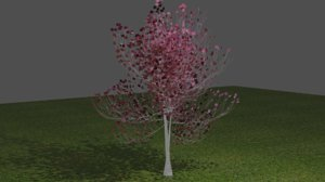 tree pink model