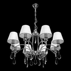 chandelier mw-light vega 3D model