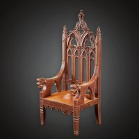 Chair - MVL - PBR Game Ready