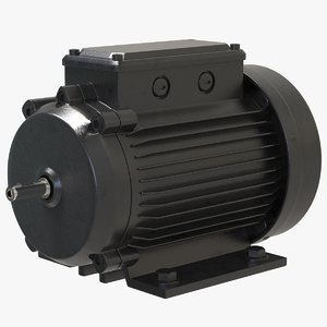 electric motor phase 3D model