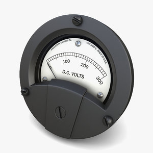 3D panel dc voltmeter 02