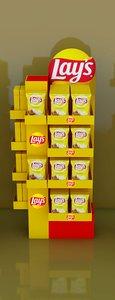 snacks display model