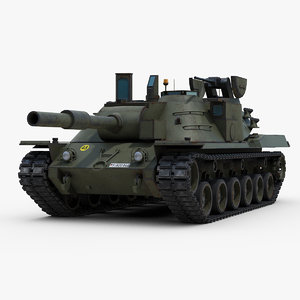 cold mbt 70 tank 3D model
