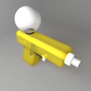 3D toy watergun 3