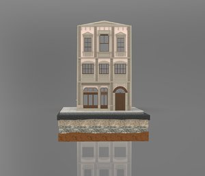 istanbul stone building 3D