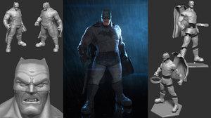 batman ready print 3D