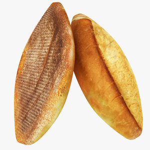 bread 01 3D model