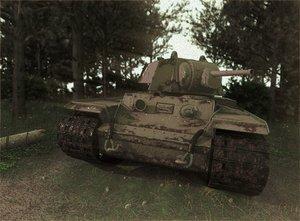 soviet tank kv-1 model
