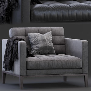 3D ac lounge chair