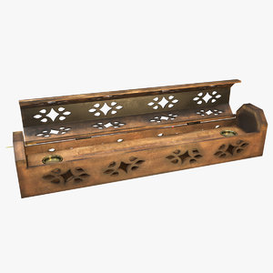 incense box 3D model