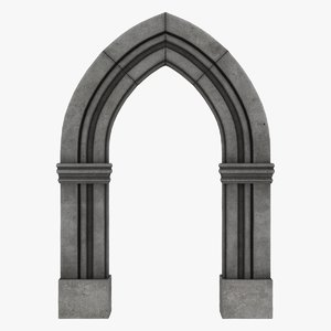 3D realistic arch 04