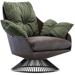 armchair gloss 3D
