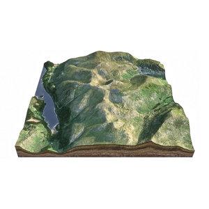 3D helvellyn forest