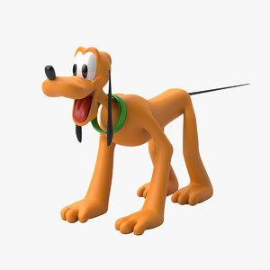 pluto film 3D model