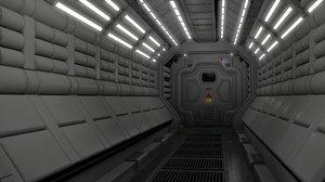 3D habitation corridor